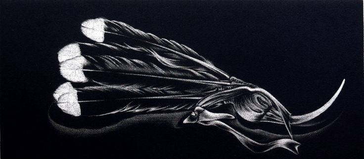 Alexis Neal, <i>Reminiscent</i>, Mezzotint on 400 x 600 mm paper, from an edition of 20, 2008. NZ$480 incl GST.