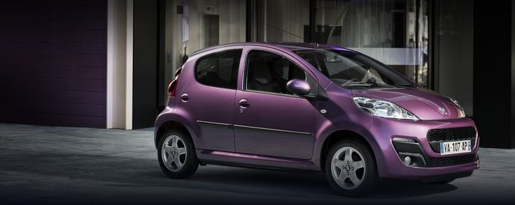 This is the car I want in my garage !! PURPPPPPLE !!! #peugeot107