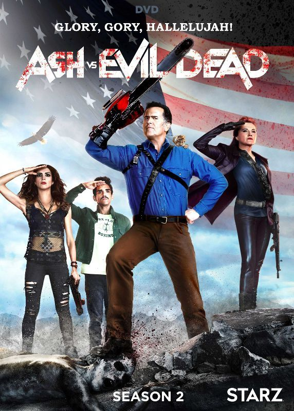 Ash Vs Evil Dead Season 2 Dvd Enhanced Widescreen For 16x9 Tv English French Spanish Larger Front Evil Dead Series Dvd Season 2