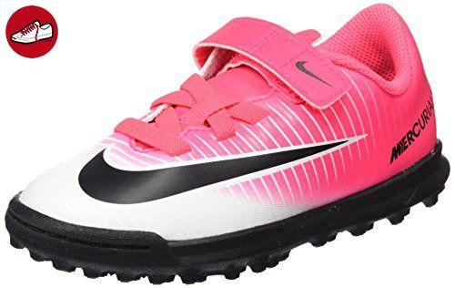 Nike Unisex-Kinder Jr Mercurialx Vortex 3 (v) Tf Fußballschuhe, Pink (Racer Pink/Black White White), 28.5 EU - Nike schuhe (*Partner-Link)
