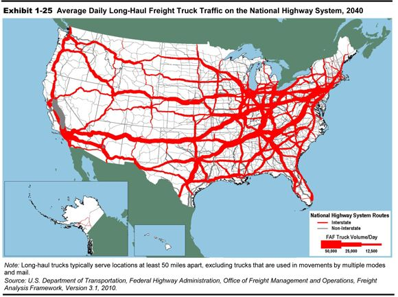 Best Freight Truck Ideas Only On Pinterest Mack Trucks Ups - Truck route us map
