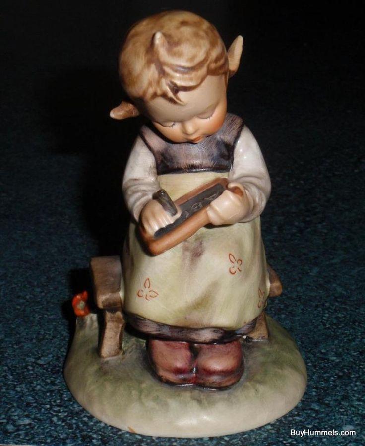 """Busy Student"" Goebel Hummel Figurine #367 TMK4 GREAT CUTE COLLECTIBLE GIFT!"