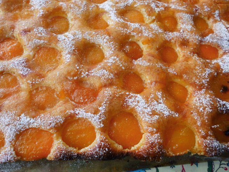 creaymme: Plaatgebak met abrikozen.