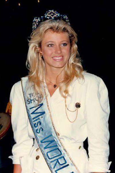 Holmfriour Karlsdottir won Miss World 1985