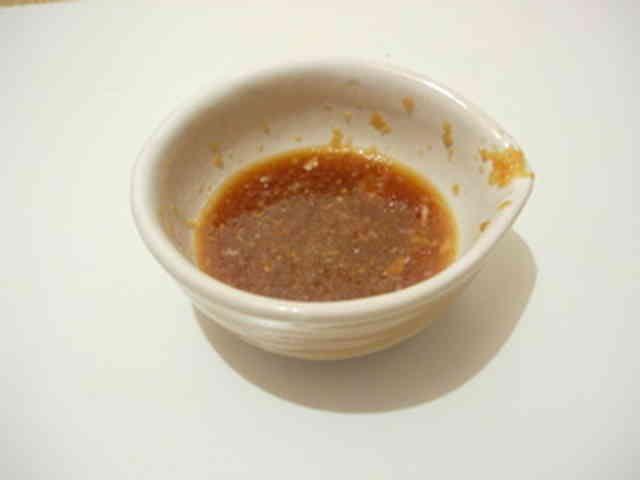 行程2まで!にんにく醤油ステーキソースの画像