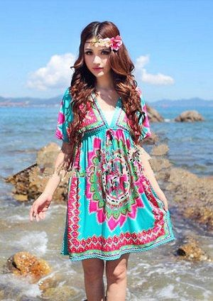 Baju Import Dress DS3112-AS