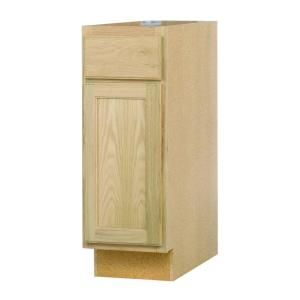 Null Assembled In Base Kitchen Cabinet In Unfinished Oak Base Cabinets Home And