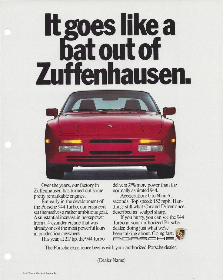 1988 Porsche 944 Turbo.