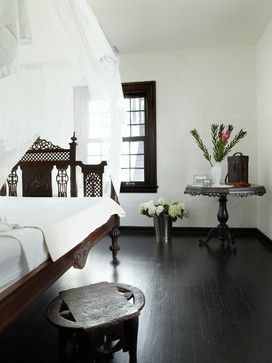 Cape Dutch House - mediterranean - bedroom - miami - by CURE & PENABAD Architecture and Urban Design