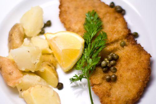 Wiener Schnitzel (Veal Schnitzel)