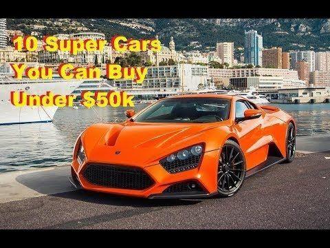Top 10 Cars Under 50k Supercars You Can For Sports 36665
