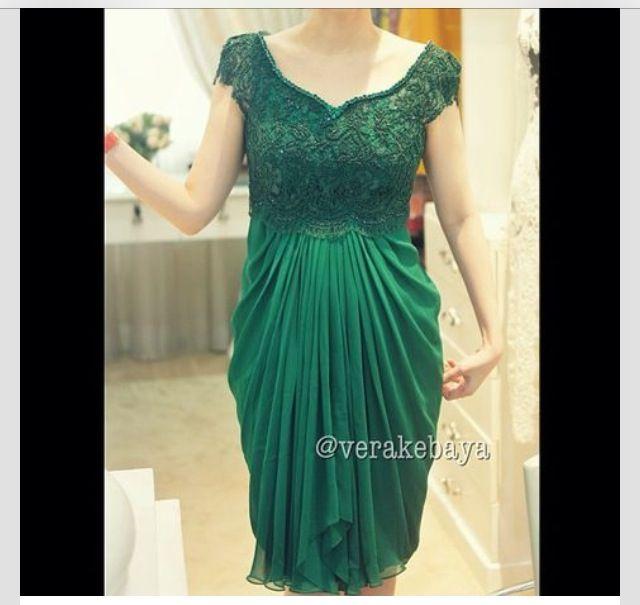 Vera Kebaya Dress (20) - Green