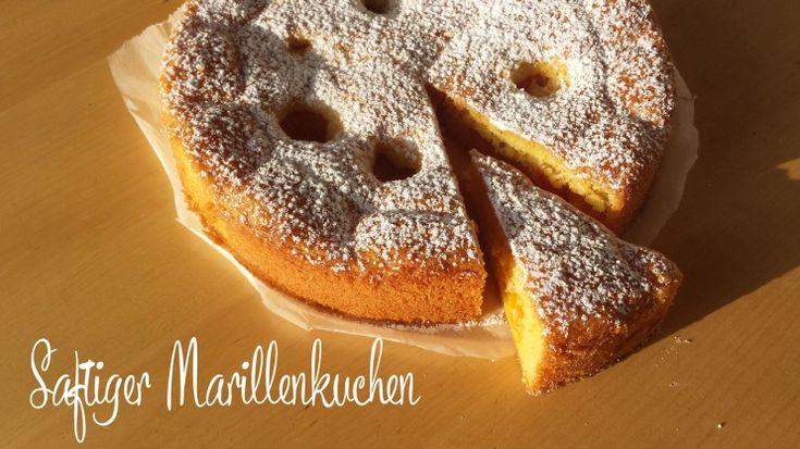 Saftiger Marillenkuchen mit Zitronenöl und Tonkaöl -> Ein fruchtiger Gruß aus der Aromaküche!