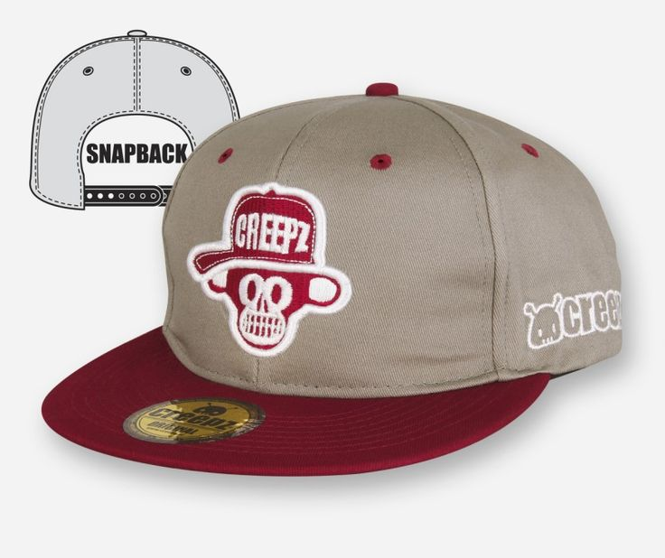Snapback Big Chimp Grey - creepzshop