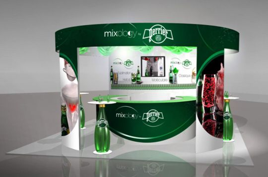 Stand perrier