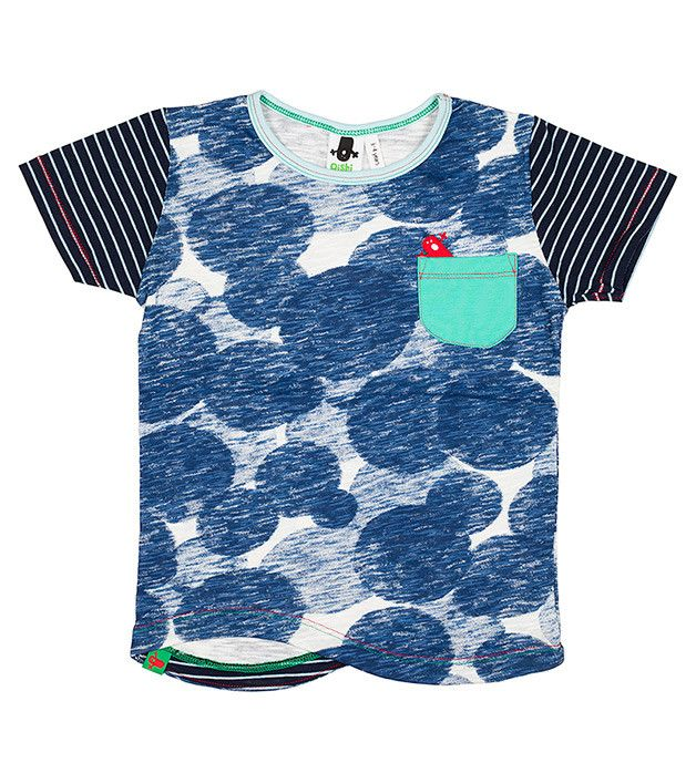 Macha SS Pocket T Shirt, Oishi-m Clothing for Kids, Spring 2014, www.oishi-m.com