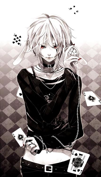 White Rabbit by iya-chenvia anipan.com | Bishounen | Alice's Adventures in Wonderland