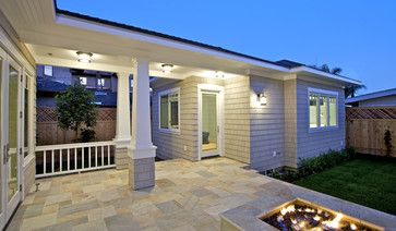 Breezeway traditional exterior and mother in law on pinterest for House plans with breezeway to guest house