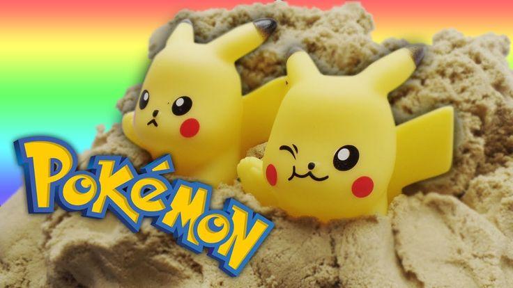 Pokemon Dikubur Pasir Kinetic | HD Citra Kreativita