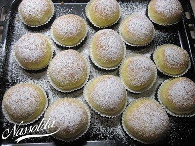 Nutellás muffin fánkok | Nassolda