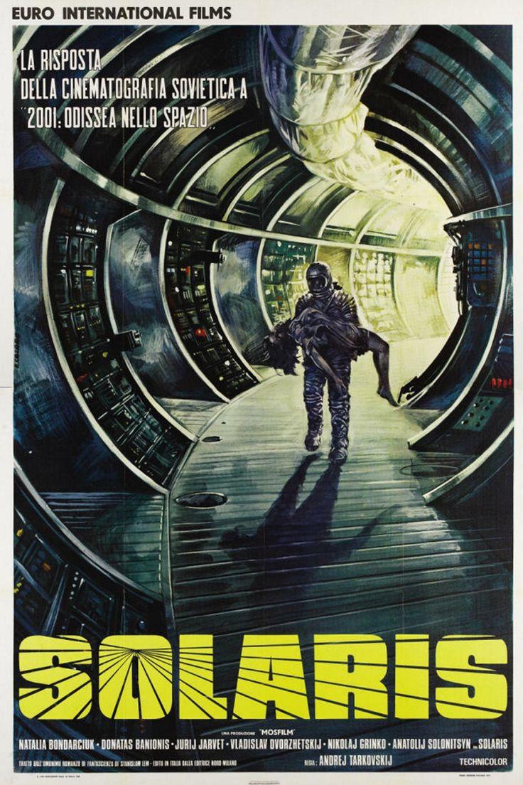 Solaris (1972) URSS. Dir: Andrei Tarkovsky. Ciencia ficción. Thriller. Películas de culto - DVD CINE 1261-I