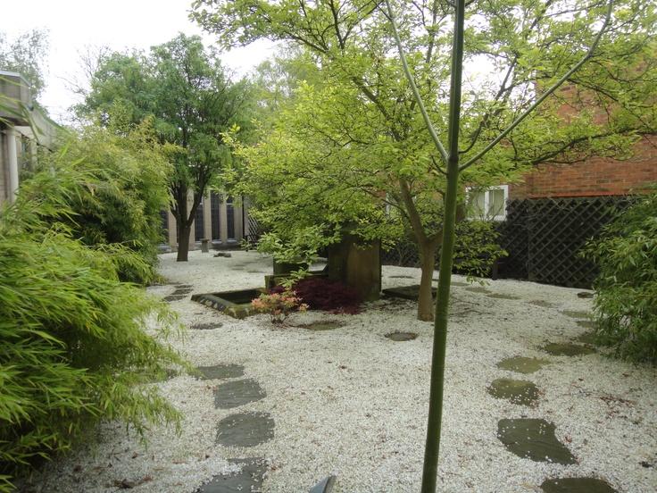 Japanese Peace Garden on York St. John University campus