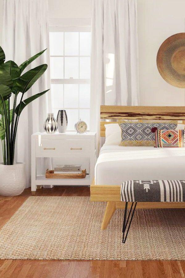 Eclectic Bedroom Design Ideas in 2019 | Living room designs ...