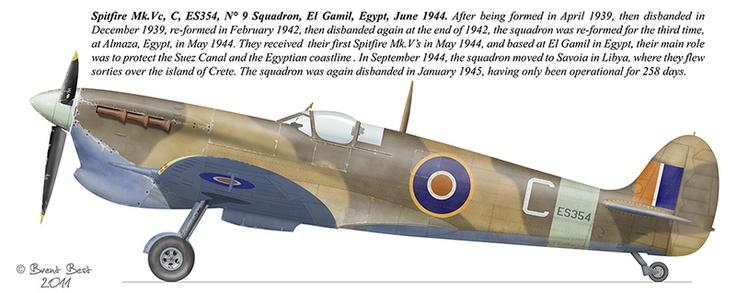 S.A.A.F. Spitfire