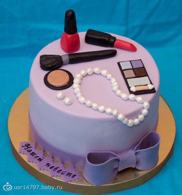 Торт на девичник наручники