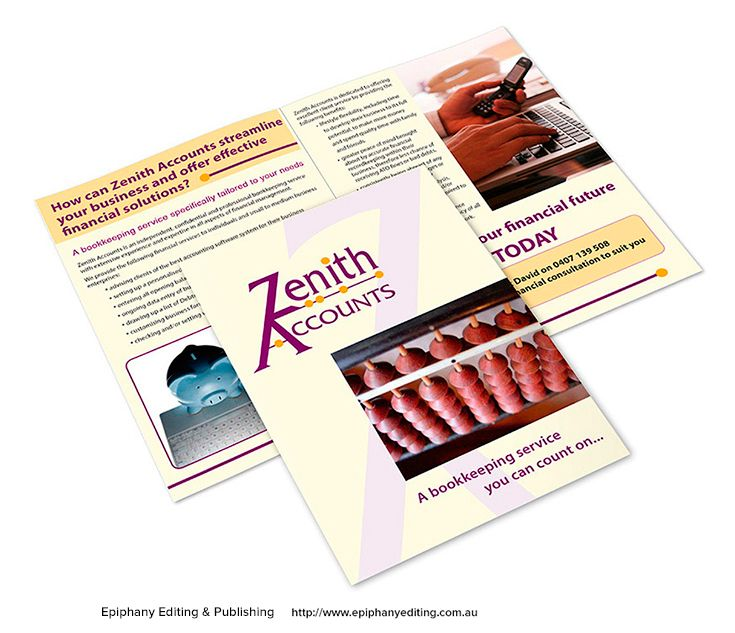 Best Brochures  Flyers  Design Portfolio Images On