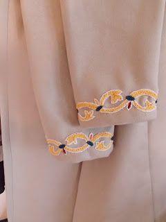 Ett vikingaliv: Viking Mammen Embroidery - finished