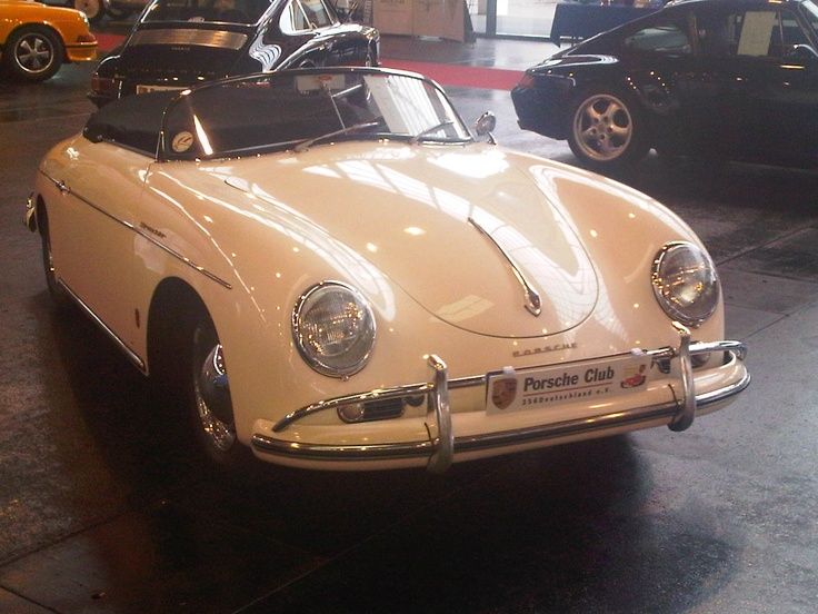 "Porsche 356 Speedster / 1964 - pic is our own - seen at Classic World Lake Constance 2012. ---  Find more on our board ""Porsche 356""."