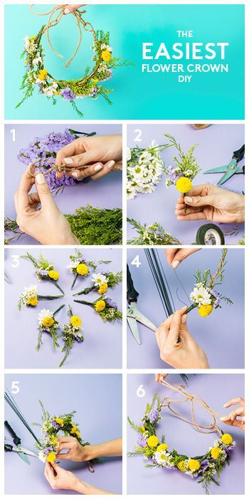 With music festival season right around the corner, you need this flower crown DIY