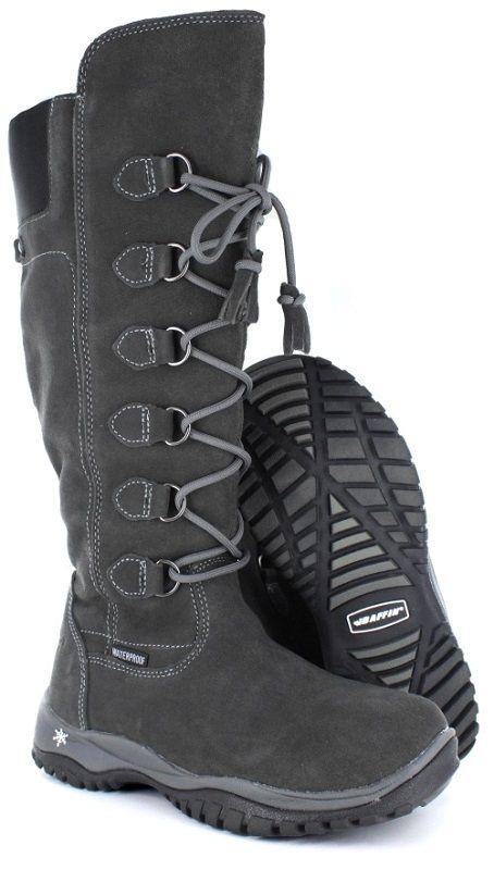 Baffin Women's Madeleine Grey Winter Boots - Keddies