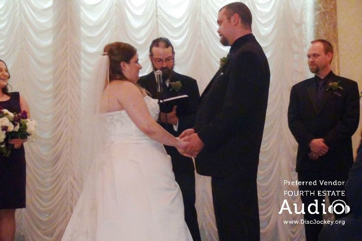 Katie's brother Tony was the guest officiant. http://www.discjockey.org/real-chicago-wedding-may-2-2015/