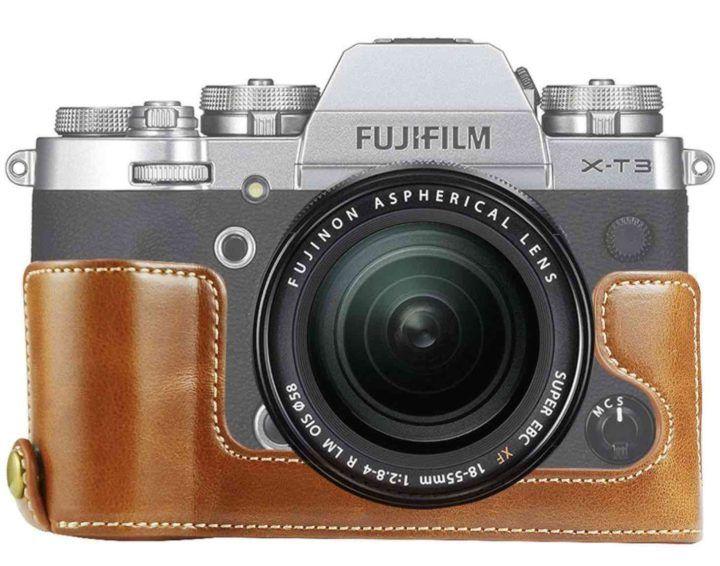 Fujifilm X-T3 Half Cases at AmazonUS and X-T3 Kaza Half