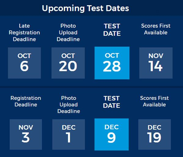 Looking for #ACT #test dates for the 2017-2018 school year? Check out our complete schedule with registration deadlines (Plus a BONUS!)