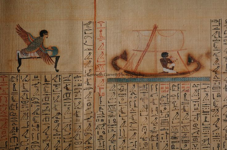 Maiherpri Papyrus, Book of the Dead, from unplundered tomb in Valley of the…