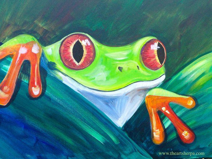 Best 25+ Frog art ideas on Pinterest | Grade 1 art ...