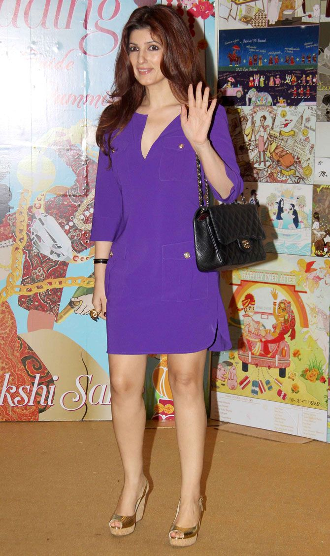 Twinkle Khanna at the launch of Sakshi Salve's book 'The Big Indian Wedding, The Ultimate Guide for Dummies'. #Bollywood #Fashion #Style #Beauty