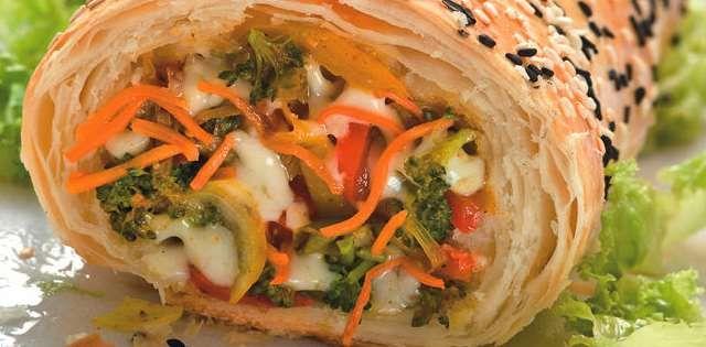La Salteña | Recetas | Arrollado Vegetariano