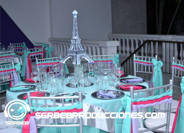 Decoracion Quincea?eras Paris ~ Quinceanera and Paris on Pinterest
