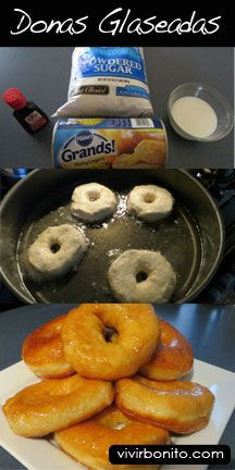 Donas Glaseadas al estilo Krispy Kreme