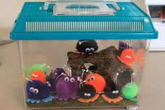 """Quiet Critters want to sit on your desk, see what you're doing, and get smarter. (Could remove them from the chatty students; those who still have their """"critter"""" at the end of the """"quiet"""" time could turn it in for a small reward.)"""