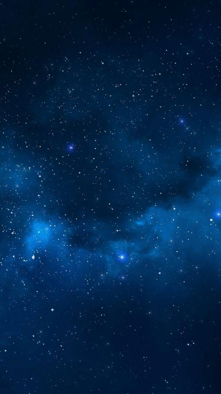 Iphone 8 Blue Stars Wallpaper - Best iPhone Wallpaper