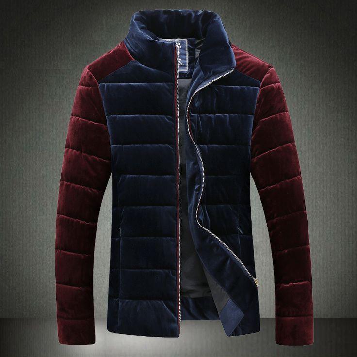 2017 winter parka men Down Jacket Mens padded winter new Korean version of casual men tide male coat male coat male jacket coat