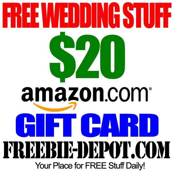 Best 25 wedding freebies ideas on pinterest wedding hacks free free wedding stuff free amazon gift card w registry for 20 wedding freebies junglespirit Images