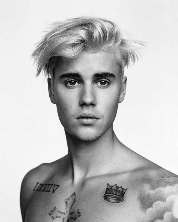 Justin Bieber para i-D Magazine Winter 2015 Issue - Male Fashion Trends