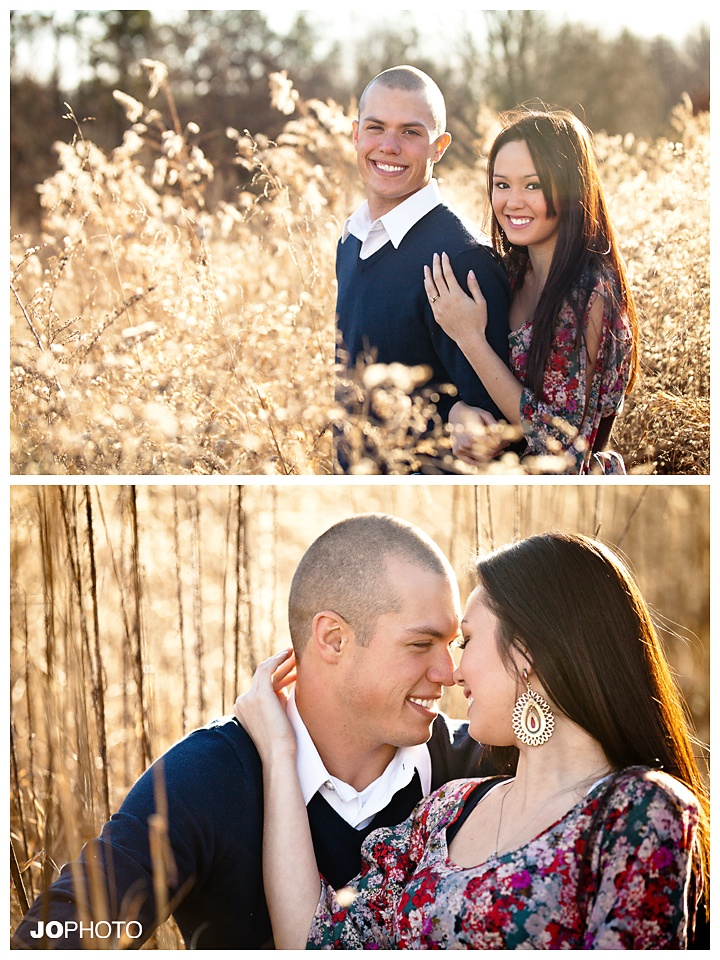 Hay field engagement photo ideas  there are hay fields surrounding our place :)
