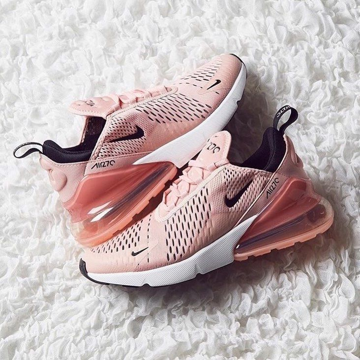 Tendance Sneakers 2018 : #Airmax270 Nike Air Max 270 Coral